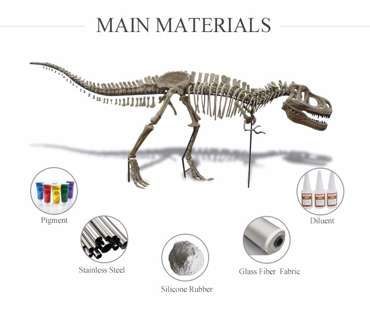 OA5173 Dinosaur Skeleton Model for Museum and Park