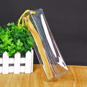 Wholesale New Arrival Transparent Custom Clear Zipper Pvc Ziplock Pencil Bag