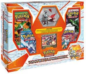 Pokemon White Kyurem Box w/ Figure, Foil & 4 Black & White Series Booster Packs!