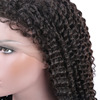 100 human hair indian remy wig 360 lace frontal wig cap