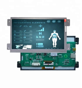 lcd touch screen for industrial equipment with UI software