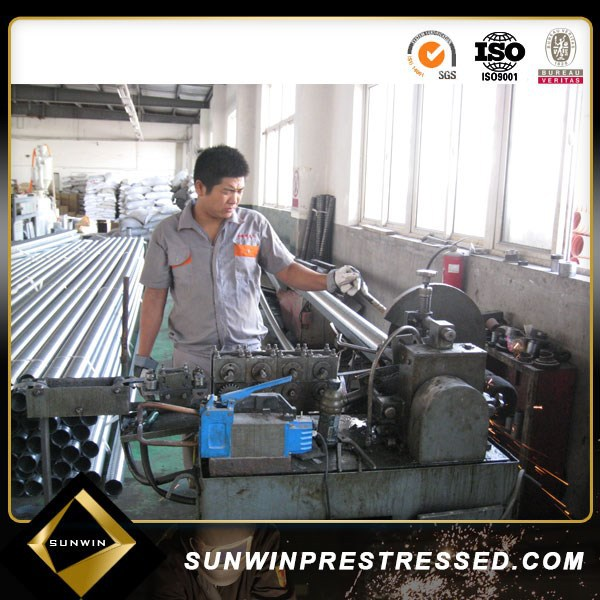 Post Tension Galvanized Corrugated Pipes Making Machine and Flat Duct Machine