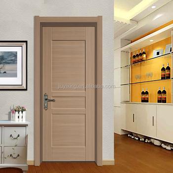Soundproof Frameless Israeli Interior Sliding Solid Wooden Door