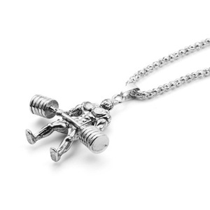 Fashion Bodybuilder Necklace For Men Jewelry Fashion Necklaces Heart Necklaces