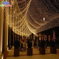 ceiling wall window holiday decorative led fishing net lights