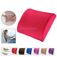 memory foam back cushion lumbar support cushion
