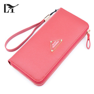 Lingyue SW1041 India Hot Sale Fashion Women Girl Leather Clutch Wallet