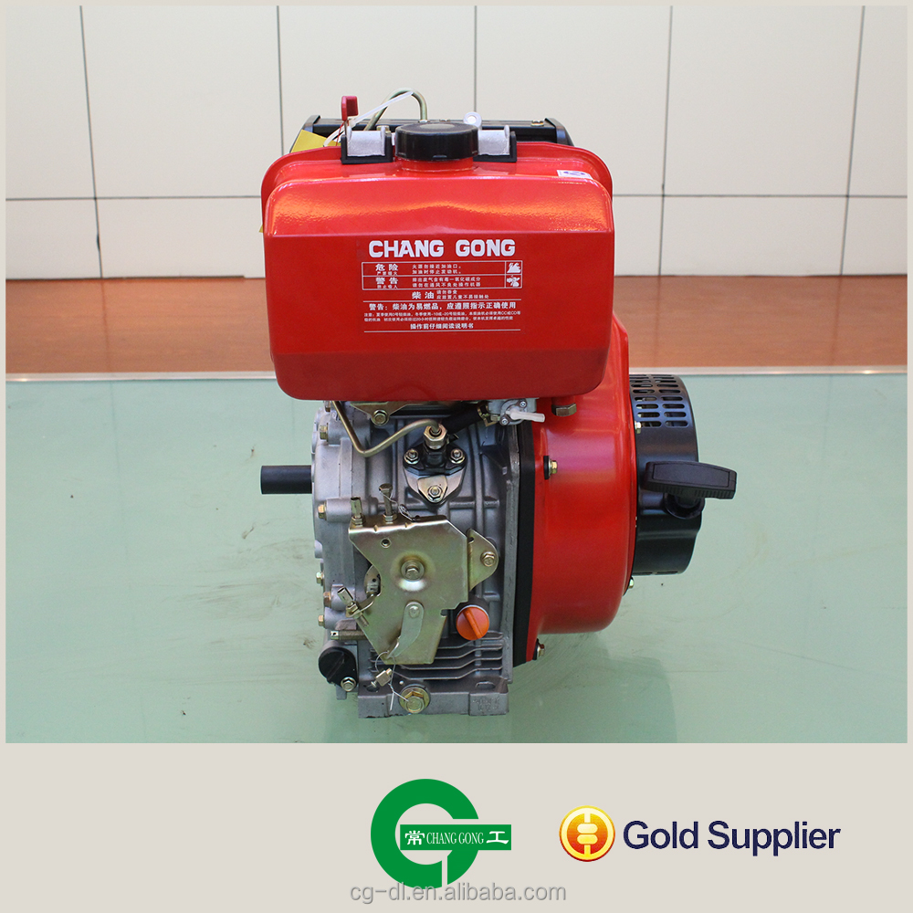 chinese supplier single cylinder 20hp 192F Air-cooled Diesel Engine