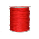 No.6 Korean silk thread 2.0mm nylon thread for Woven Chinese knot Bracelet Making 150g/roll