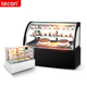 Customized floor standing or table top cake showcase/display freezer/bakery display cabinet