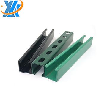 Galvanized Structural Steel U Channel Zinc Plated C-purlin