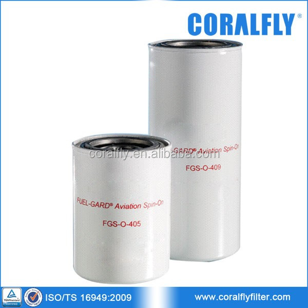 Aviation Spin-On Fuel Filter FGS-O-405 FGS-O-409