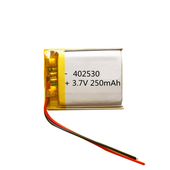 Rechargeable lipo 452530 3.7v 250mah lithium ion polymer battery