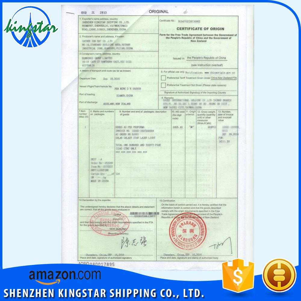 China gsp certificate of origin wholesale alibaba yadclub Choice Image
