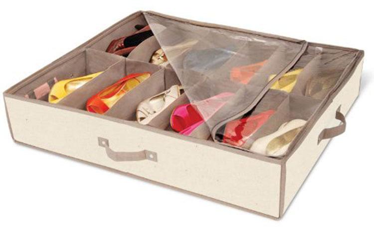 Shoe Organizer Under Bed Storage