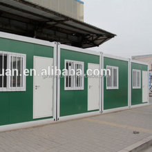 Economical green house prefabricated container houses villa