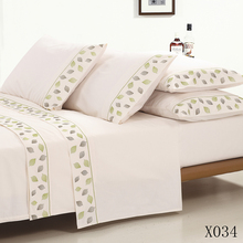 KOSMOS new fashion high quality embroidery polyester bed sheet