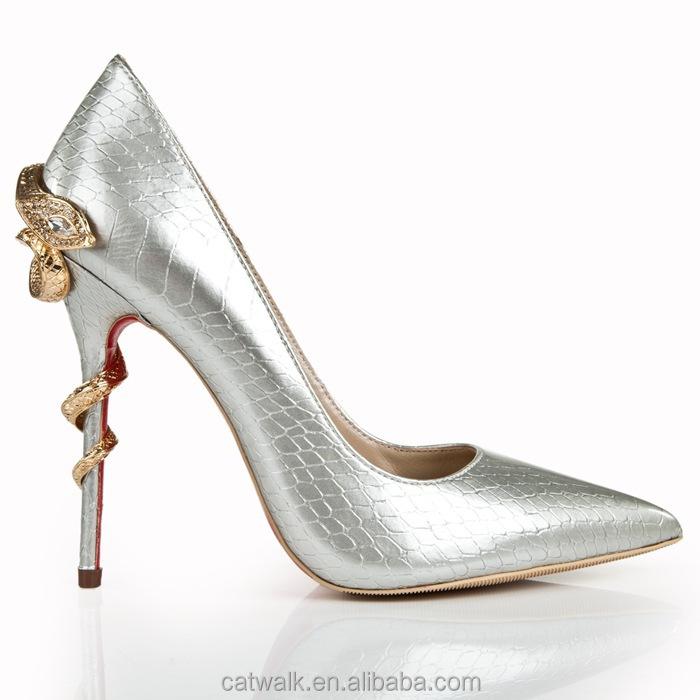 Catwalk-s110273-1 Metal Heel European Shoe Brands Ladies Fancy ...