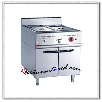 K007 With Cabinet Electric Or Gas Bain Marie Food Warmer