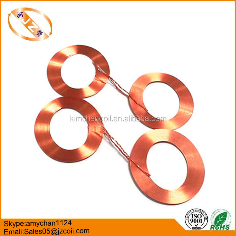 Customized copper self supporting bonded coil 0.25H
