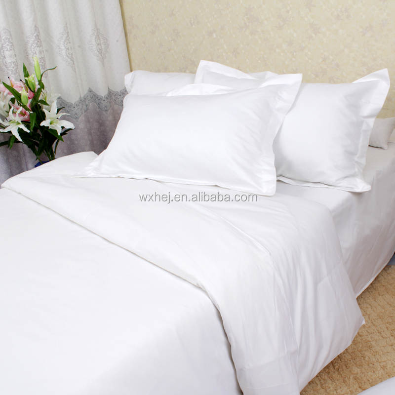 Wholesale Cheap Bulk White Bed Sheets Single Double Queen