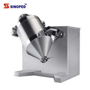 2017 Cheapest 3d Rotating Drum Powder Mixer