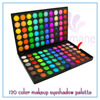 Easy Lifestyles Mixed 120 Colors Powder Mineral Eyeshadow Makeup Eye Brush Shadow