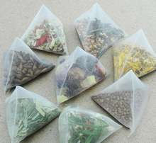 OEM private label for organic flower/fruit tea with triangle teabag/types of pyramid teabag