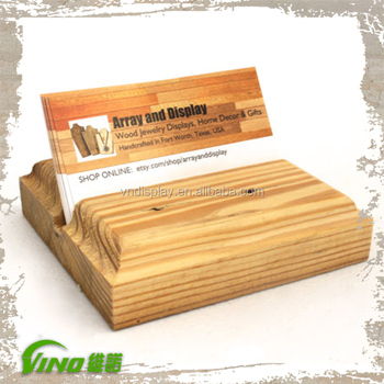 Wooden Business Card Holder Gift Card Holder Business Card Holder