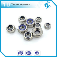 Made in china high-quality self locking nylon nuts with insert