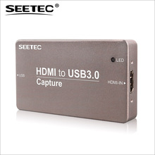 Seetec truly PnP. no delay playback usb hd video capture device for live streaming