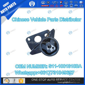 CHERY QQ PARTS S11-1001310BA ENGINE SUPPORT RIGHT WITH BRACKET METAL AUTO SPARE PARTS CAR ACCESSORY ENGINE ASSY