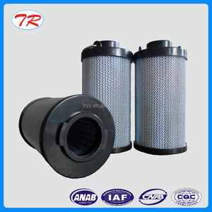 Organic polymer composite glass fiber oil filter element in low pressure return oil pipe road