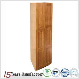 Cheap Pantry Plywood Kitchen Cabinet With Shelf
