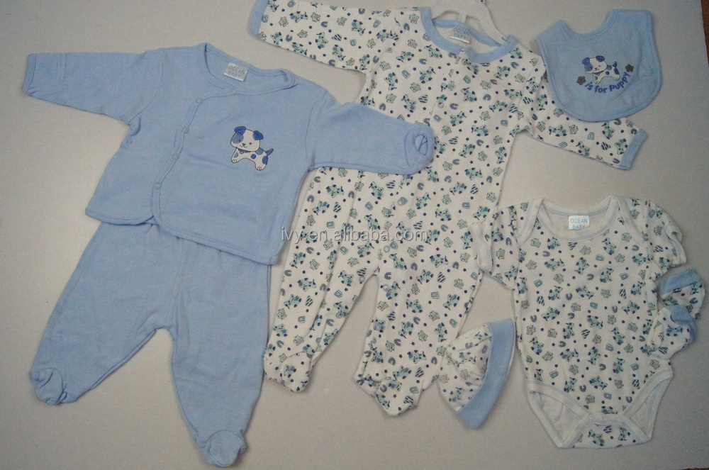 new bron baby boys 8pcs gift set