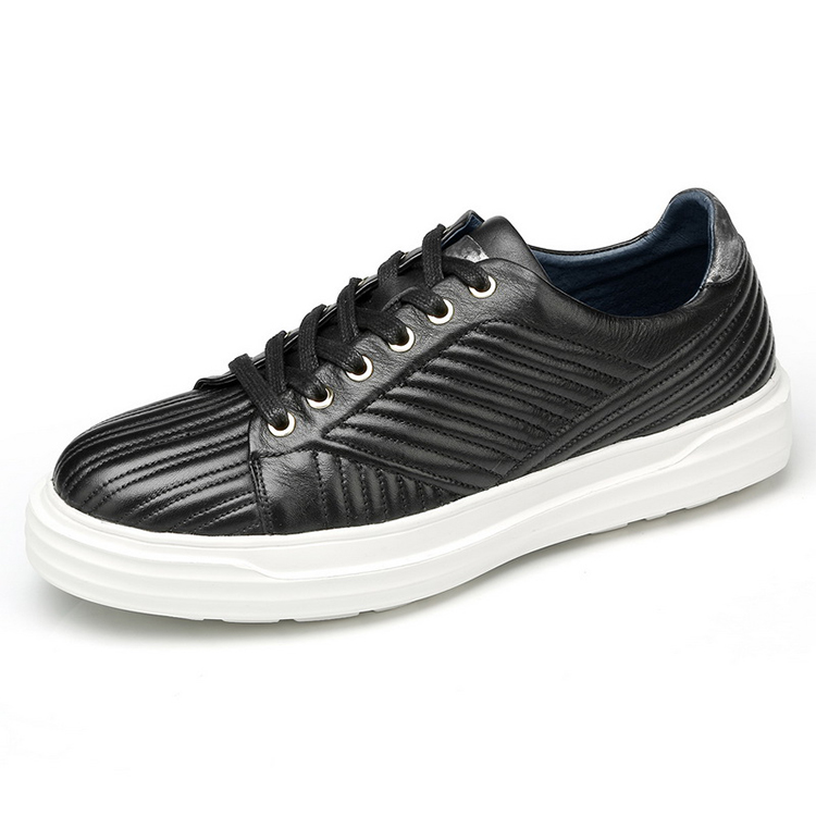 Shoes European Men Leather Shoes New The Causal 2018 Spring 8ZwXqR