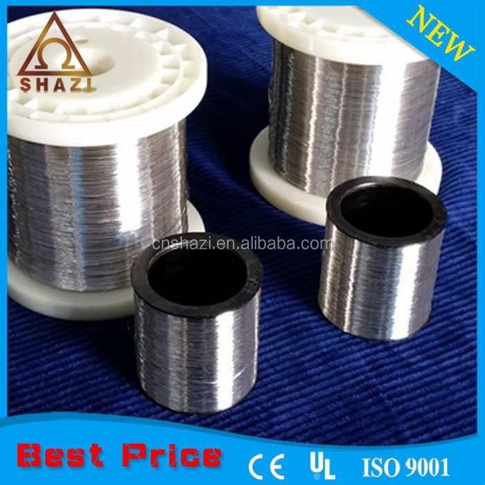 Nichrome ni80cr20 nicr heating wire and strip chrome nickel wire resistance
