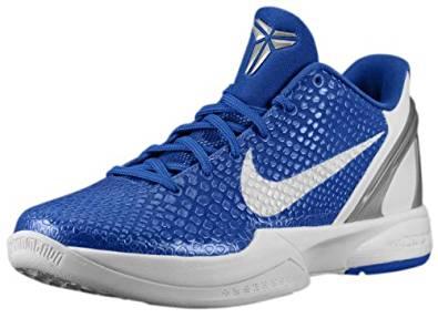 low priced 10030 75c8e Get Quotations · Nike Zoom Kobe VI TB Men s Basketball Shoes. Size 6.  Varsity Royal White