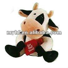 "7"" Soft Plush Stuffed Patch The Cow Toys Plush Toys"