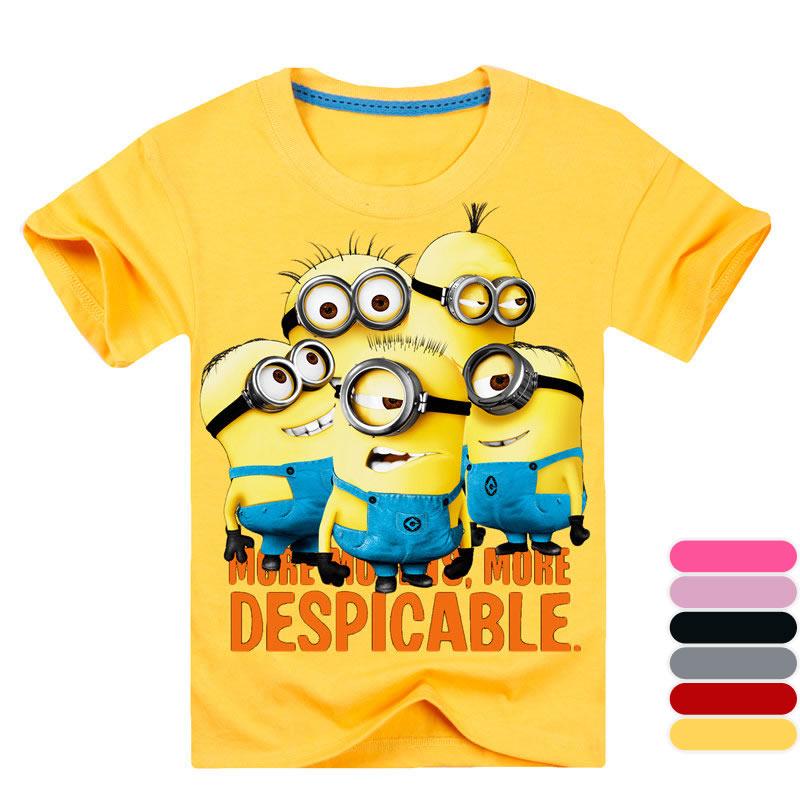 e53aa3e89c9c6 Minions T Shirt. image gallery minion t shirts. men 39 s yellow ...