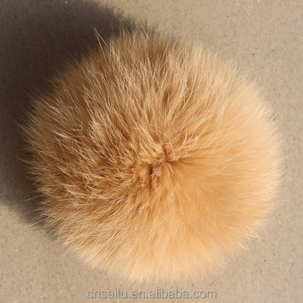 New arrival attractive rabbit fur pom poms decorative for scarf shoes hats coats fashion accessories