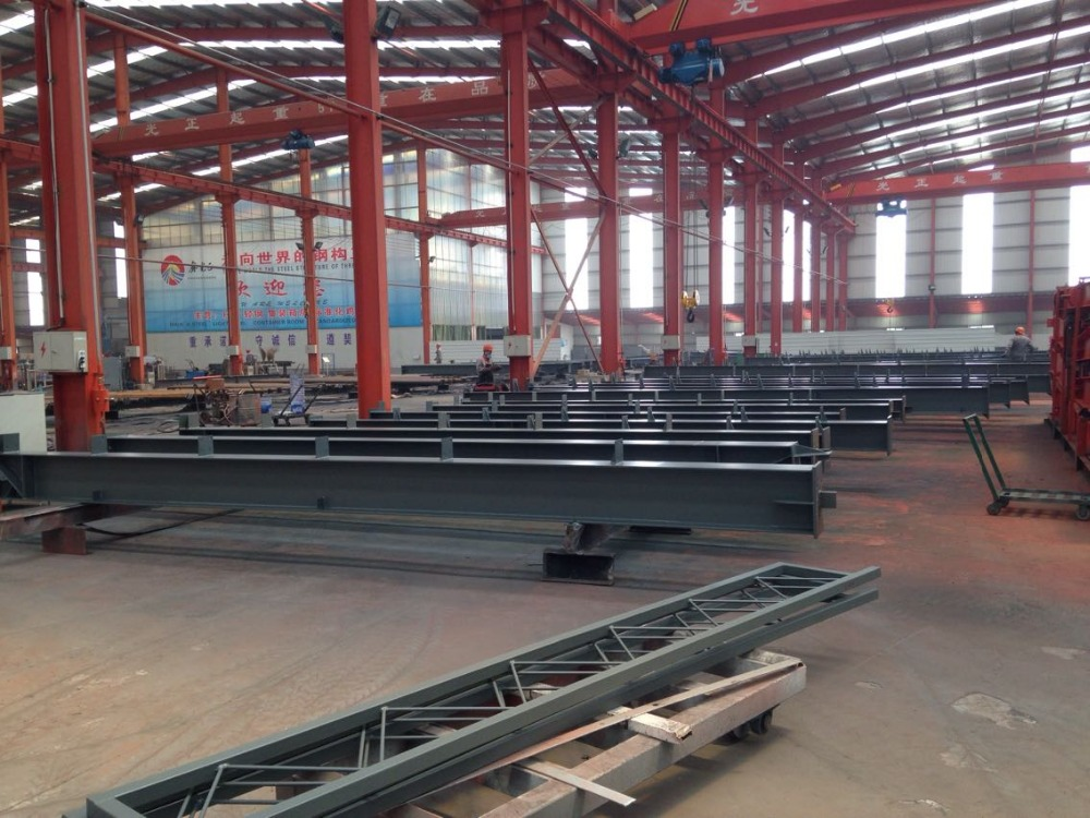 customized small steel structure prefabricated hangar