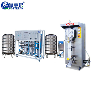 Full Automatic Filling Packing Pure Drinking Small Sachet Water Making Machine