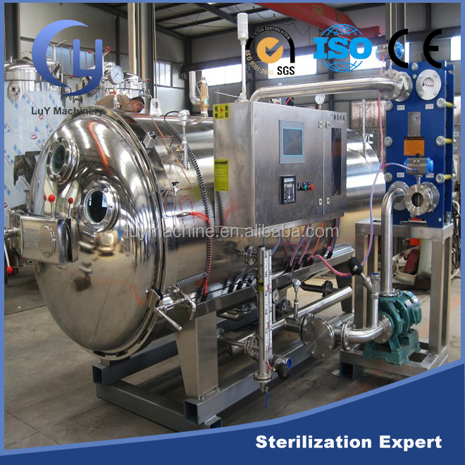 Automatic canning food sterilization processing autoclave