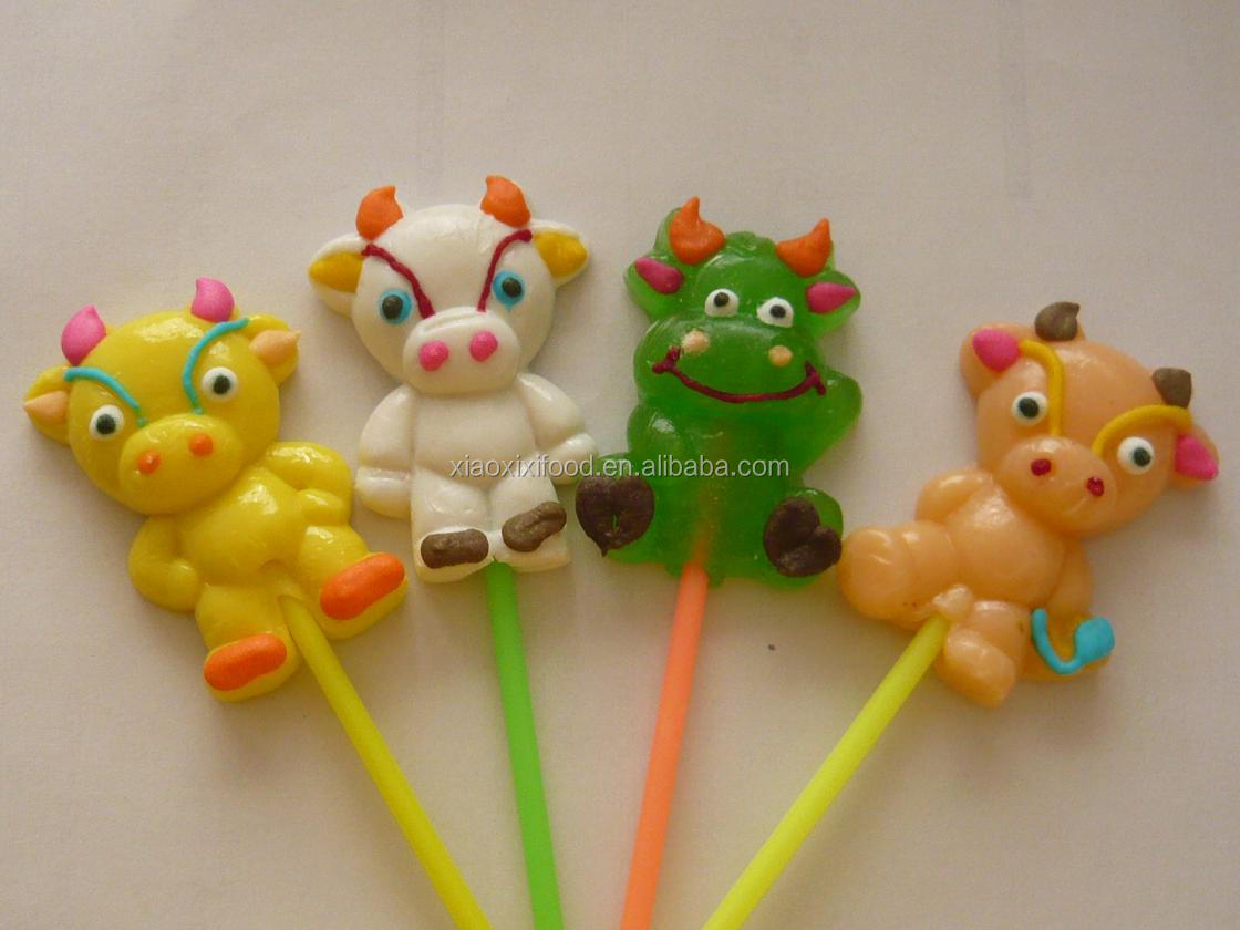 China factory pin pop lollipop gummy eyeballs candy jelly candy