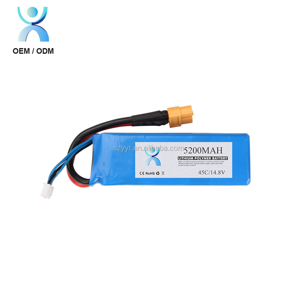 30c rc helicopter battery 5000 mah battery lithium polymer 4s 14.8v
