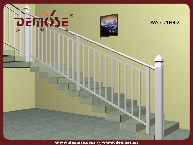 Barato de aluminio fundido barandilla para escaleras for Escaleras de aluminio para interiores