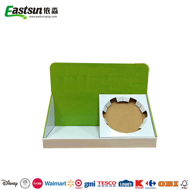 Customized Size Promotional Cardboard Corrugated pdq Display