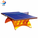 hot sale indoor rainbow table tennis table ping pang table from China factory