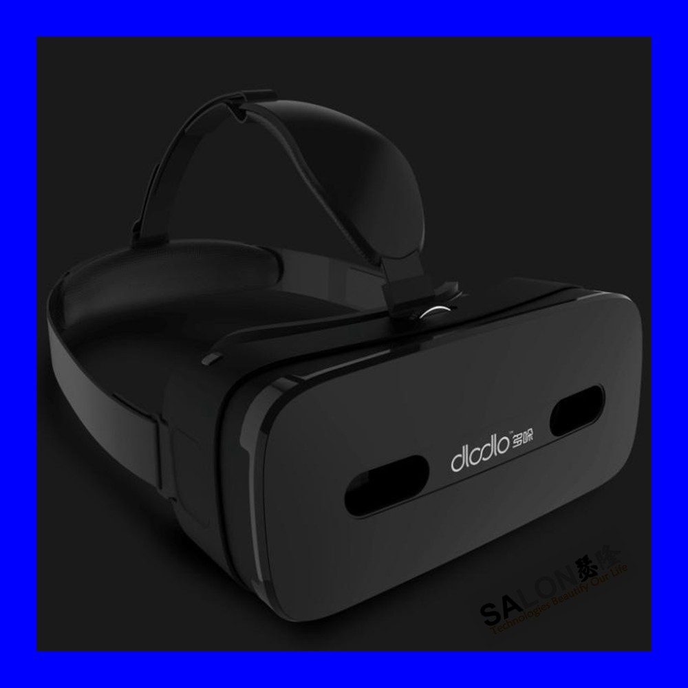 Vr-box Vision 3D Head Mount Display 3D Virtual Reality Video Glasses headset for all Ios and android phones